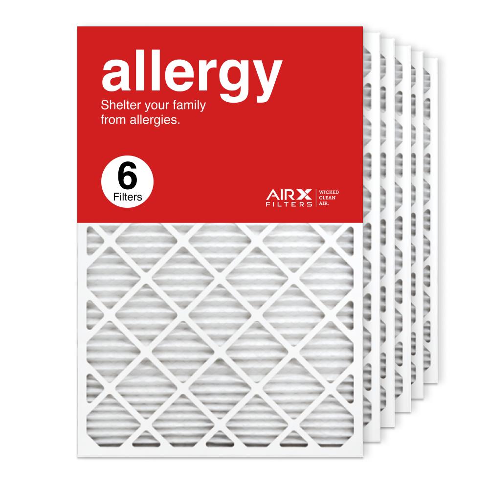 24x36x1 AIRx ALLERGY Air Filter, 6-Pack