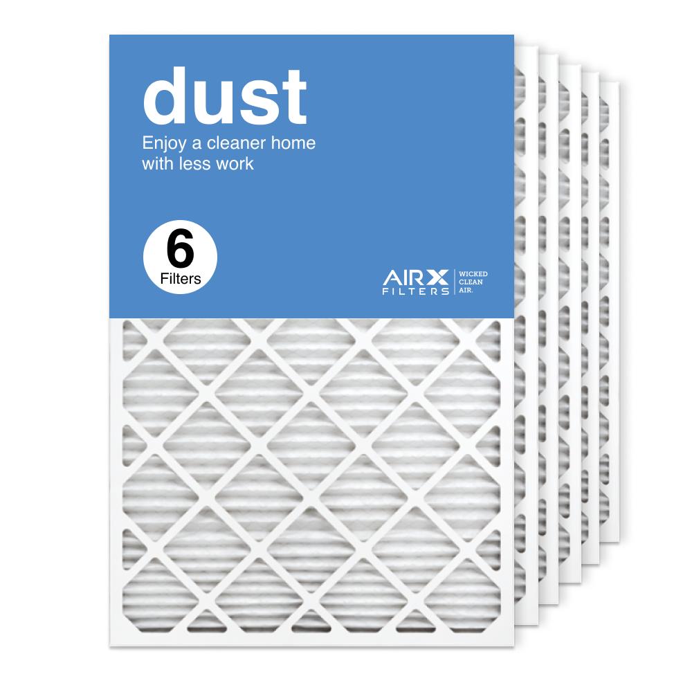 24x36x1 AIRx DUST Air Filter, 6-Pack
