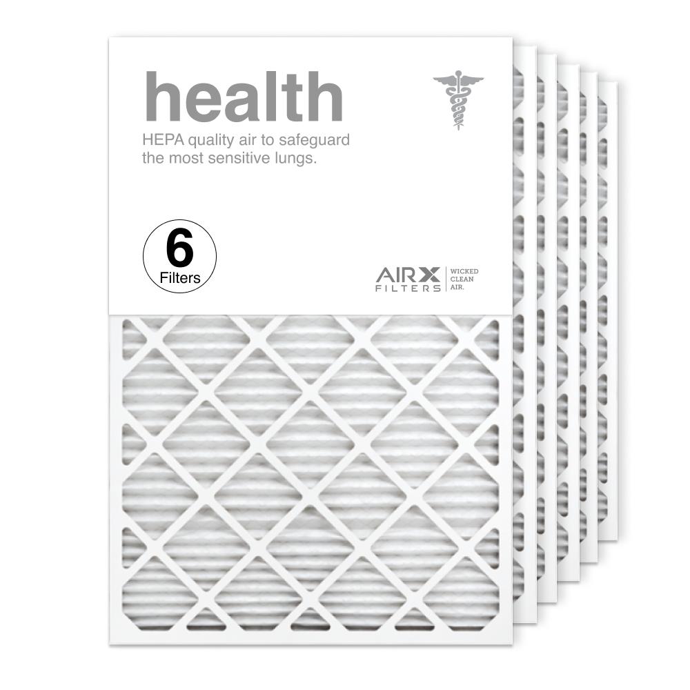 24x36x1 AIRx HEALTH Air Filter, 6-Pack