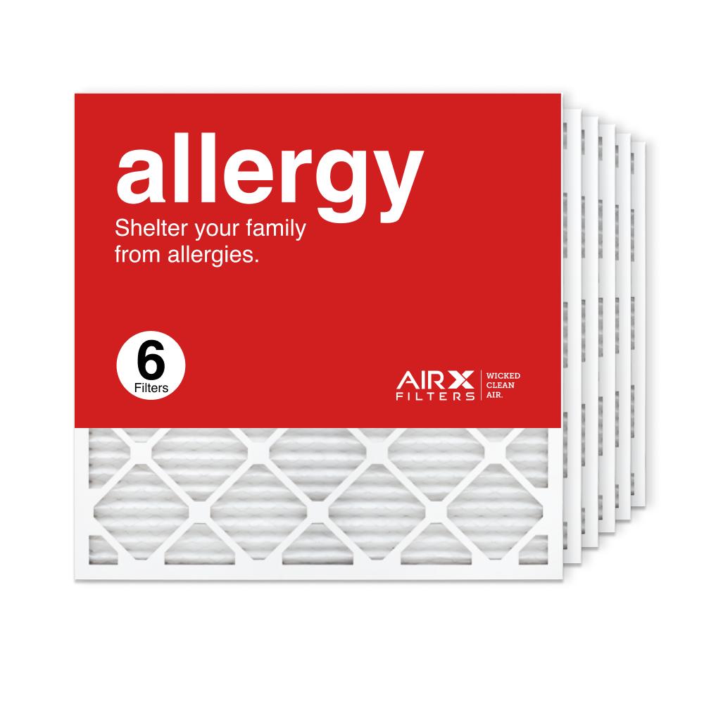 25x25x1 AIRx ALLERGY Air Filter, 6-Pack