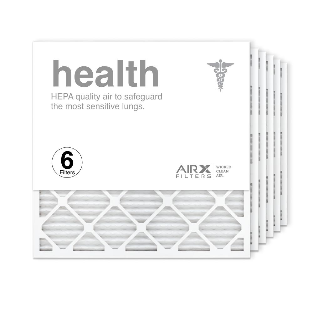 25x25x1 AIRx HEALTH Air Filter, 6-Pack