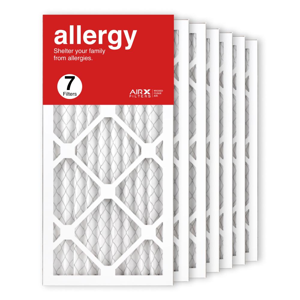 10x20x1 AIRx ALLERGY Air Filter, 7-Pack