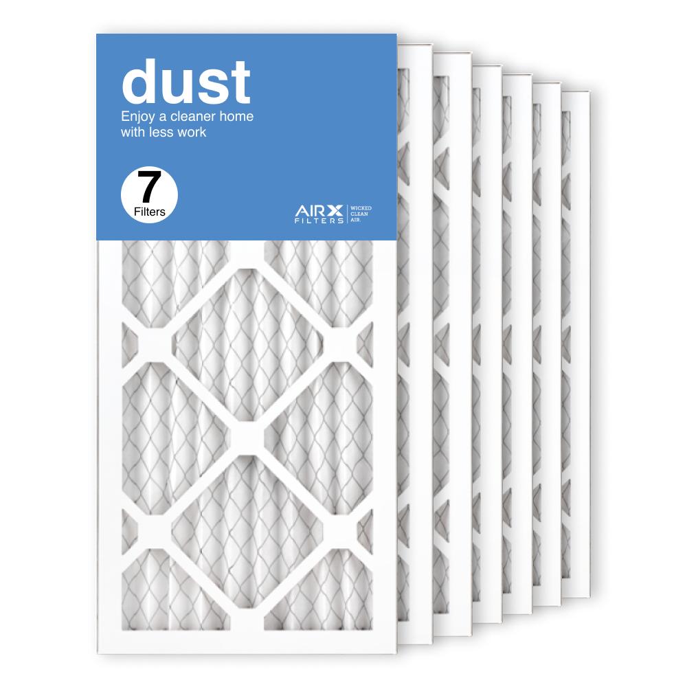 10x20x1 AIRx DUST Air Filter, 7-Pack
