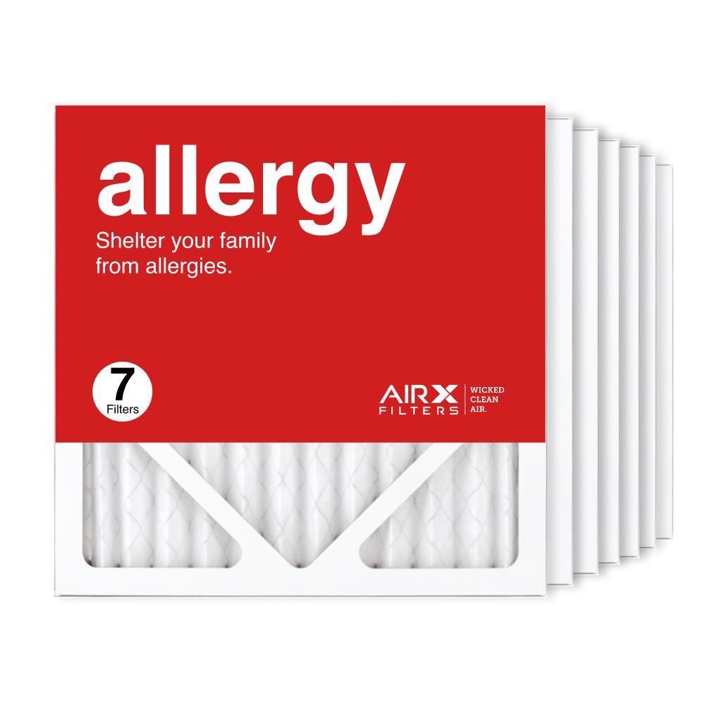 12x12x1 AIRx ALLERGY Air Filter, 7-Pack