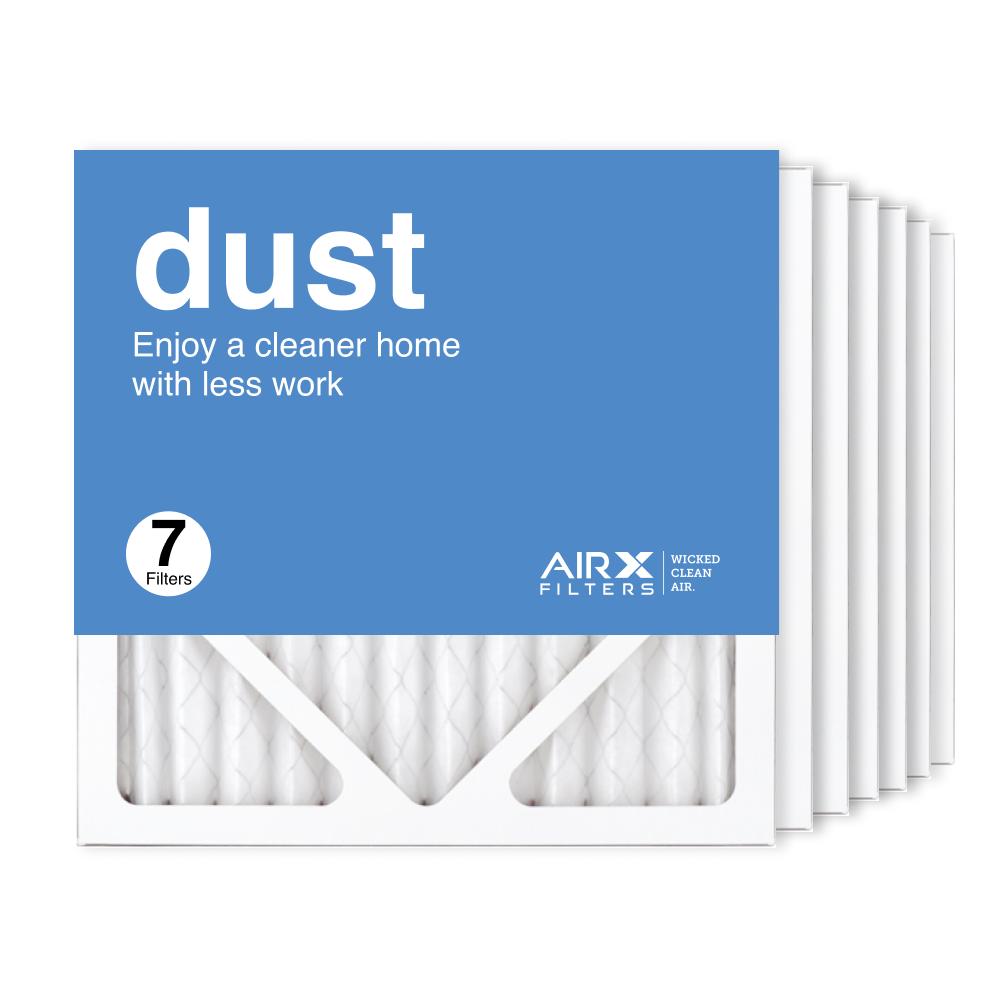 12x12x1 AIRx DUST Air Filter, 7-Pack