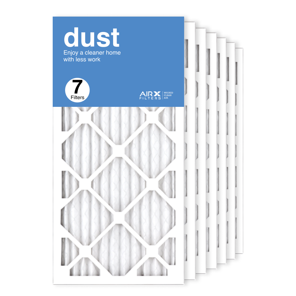 12x24x1 AIRx DUST Air Filter, 7-Pack