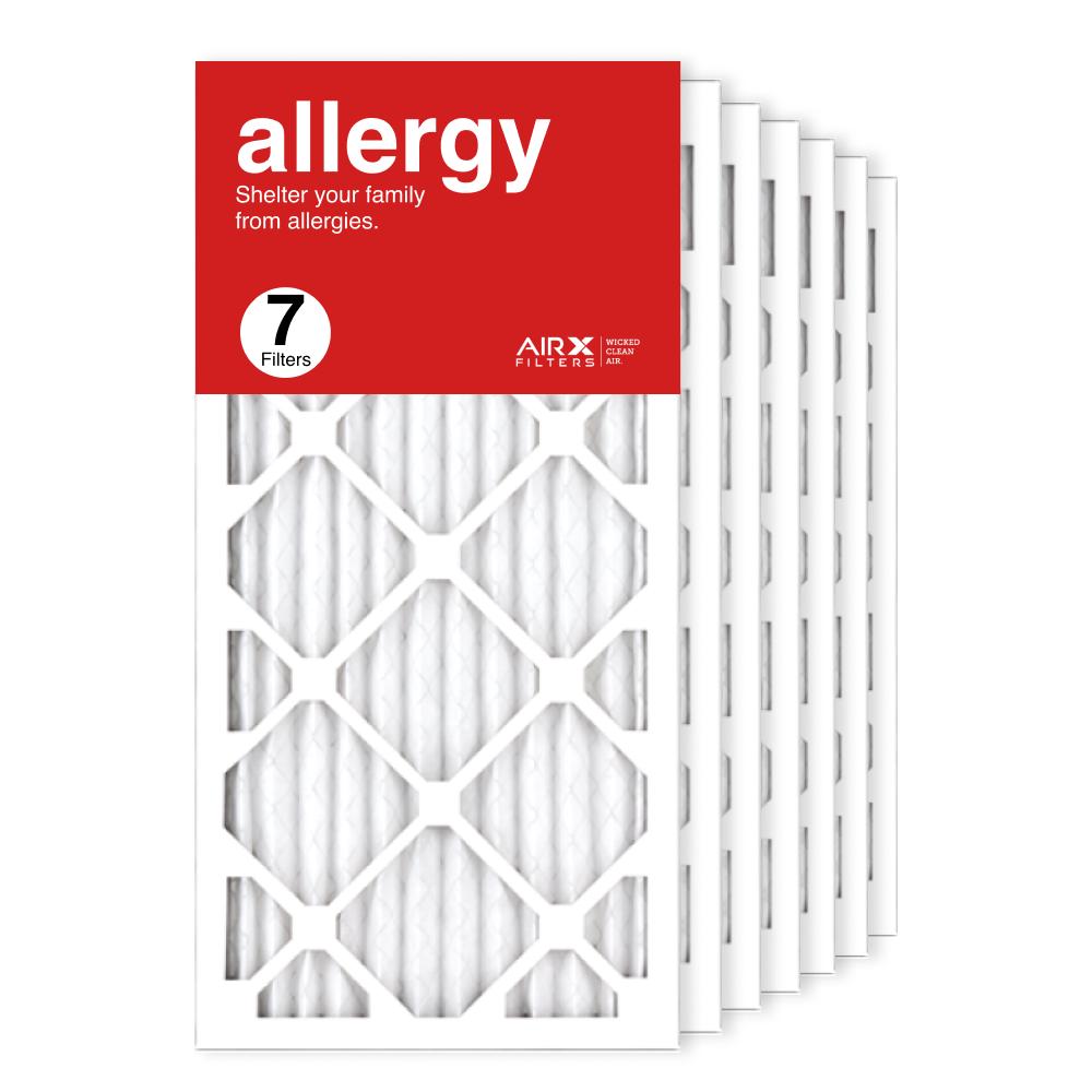 12x25x1 AIRx ALLERGY Air Filter, 7-Pack