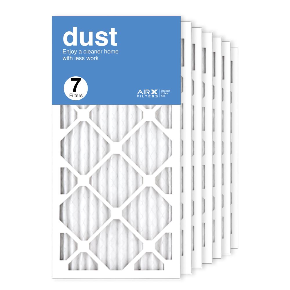 12x25x1 AIRx DUST Air Filter, 7-Pack
