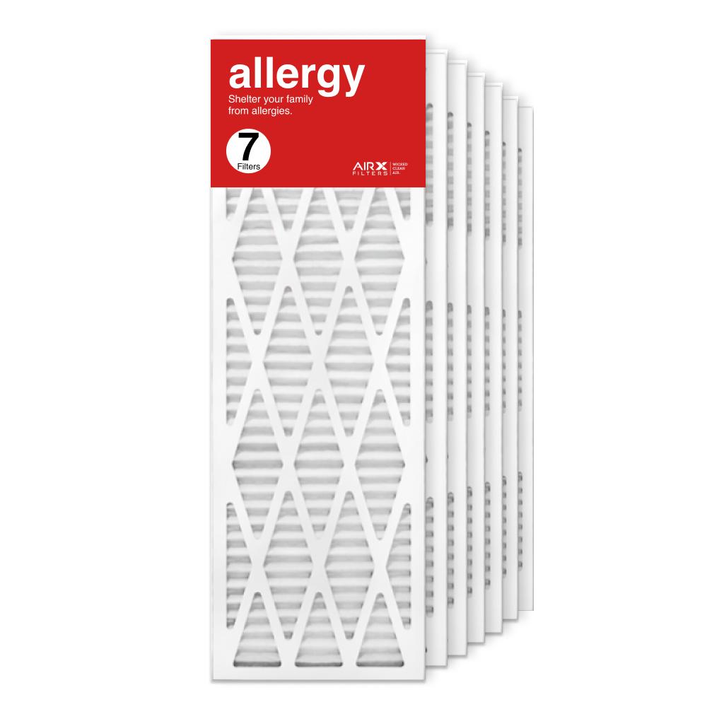 12x36x1 AIRx ALLERGY Air Filter, 7-Pack