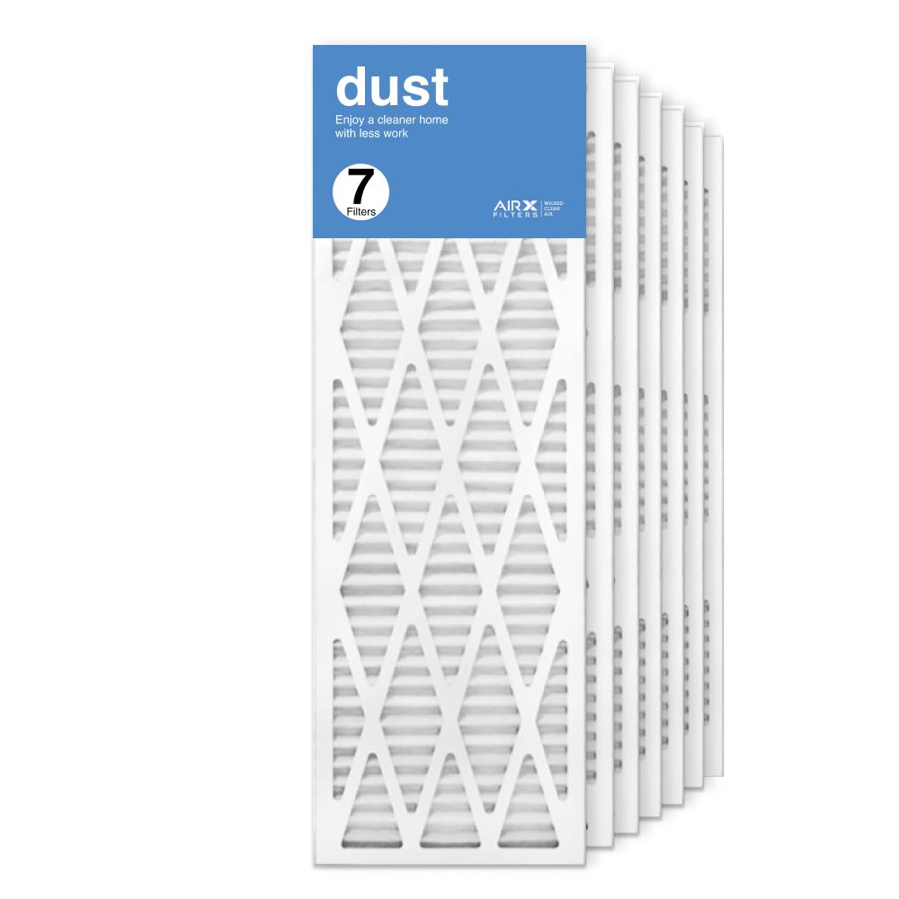 12x36x1 AIRx DUST Air Filter, 7-Pack