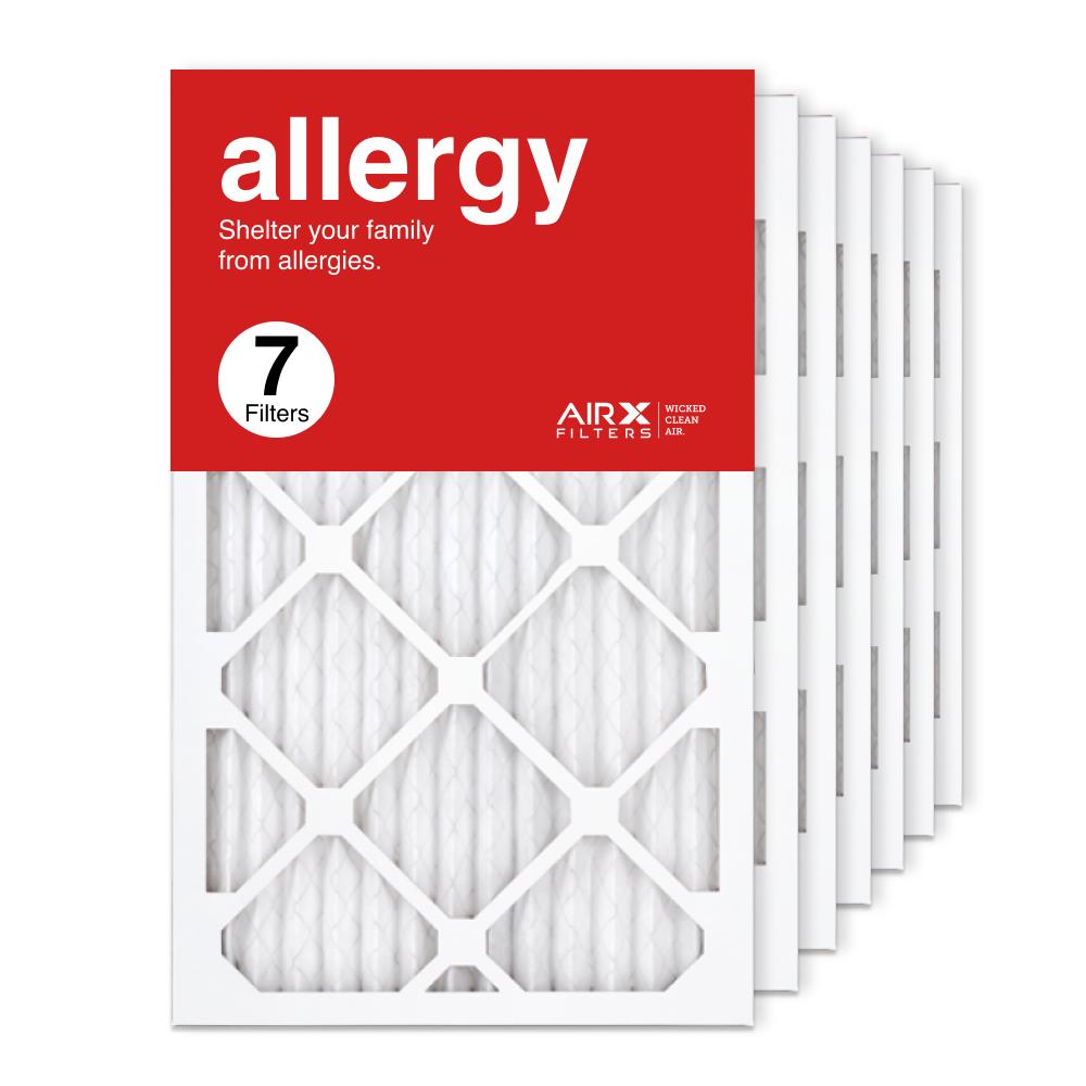 13x21.5x1 AIRx ALLERGY Air Filter, 7-Pack