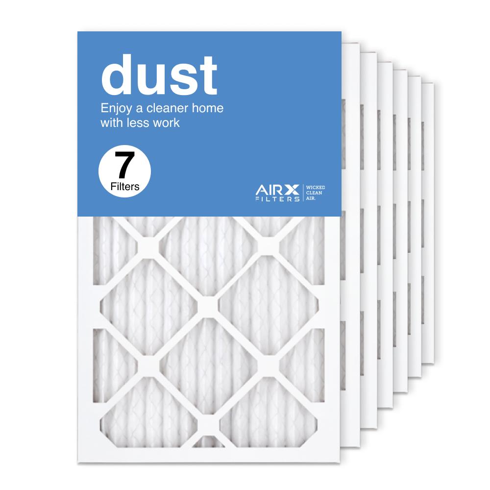 13x21.5x1 AIRx DUST Air Filter, 7-Pack