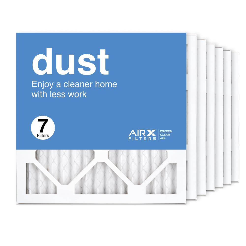 14x14x1 AIRx DUST Air Filter, 7-Pack