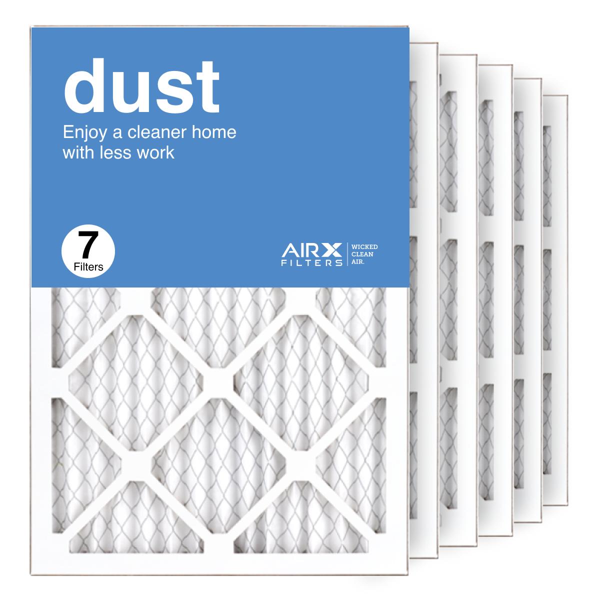 14x20x1 AIRx DUST Air Filter, 7-Pack