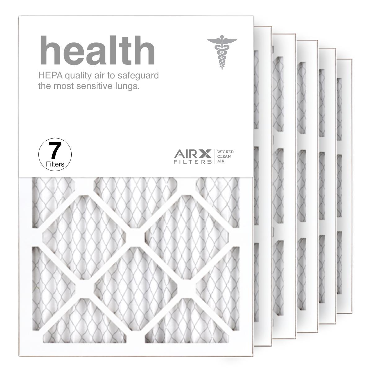 14x20x1 AIRx HEALTH Air Filter, 7-Pack