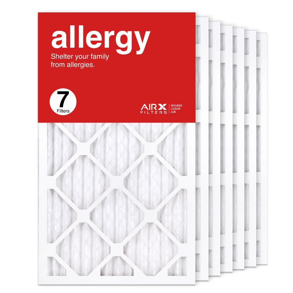 14x24x1 AIRx ALLERGY Air Filter, 7-Pack
