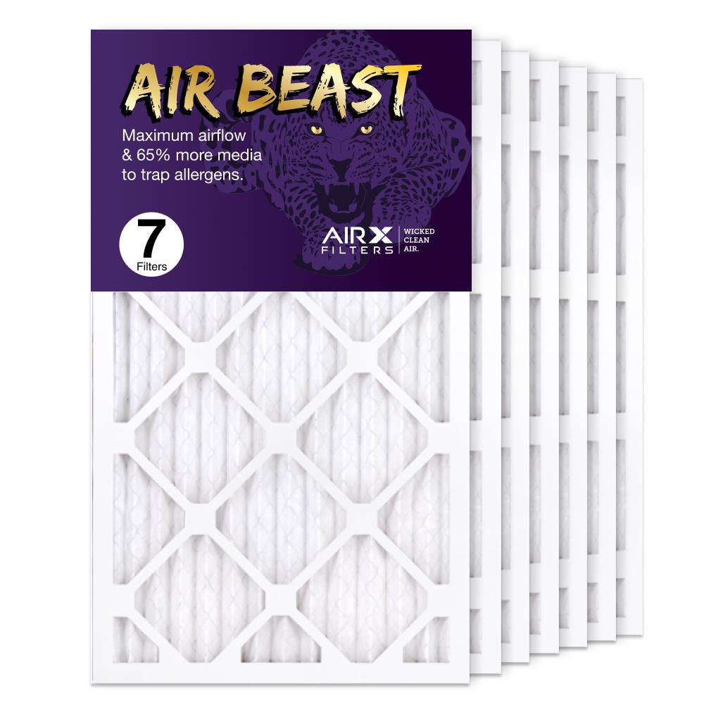 14x24x1 AIRx Air Beast High Flow Air Filter, 7-Pack