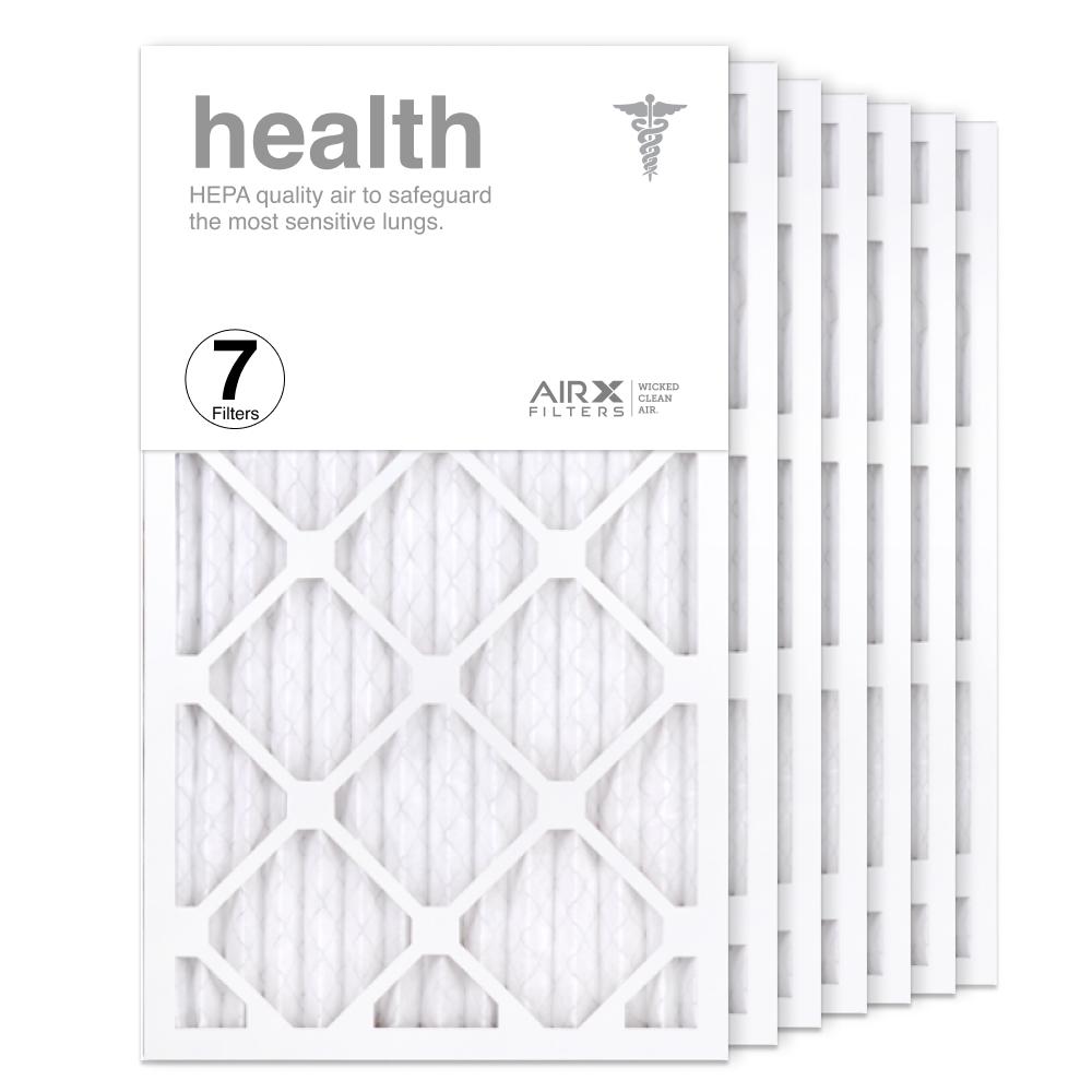 14x24x1 AIRx HEALTH Air Filter, 7-Pack