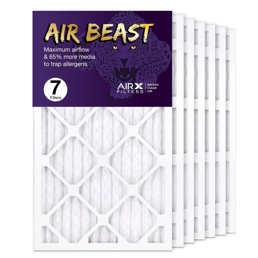 14x25x1 AIRx Air Beast High Flow Air Filter, 7-Pack