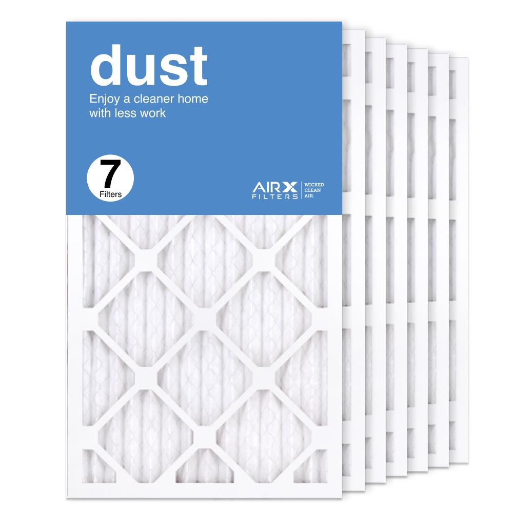 14x25x1 AIRx DUST Air Filter, 7-Pack