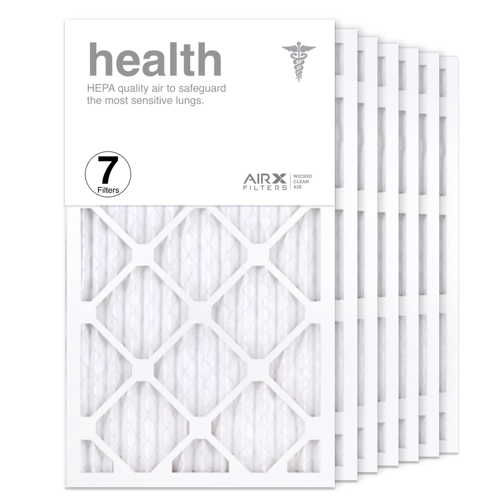 14x25x1 AIRx HEALTH Air Filter, 7-Pack