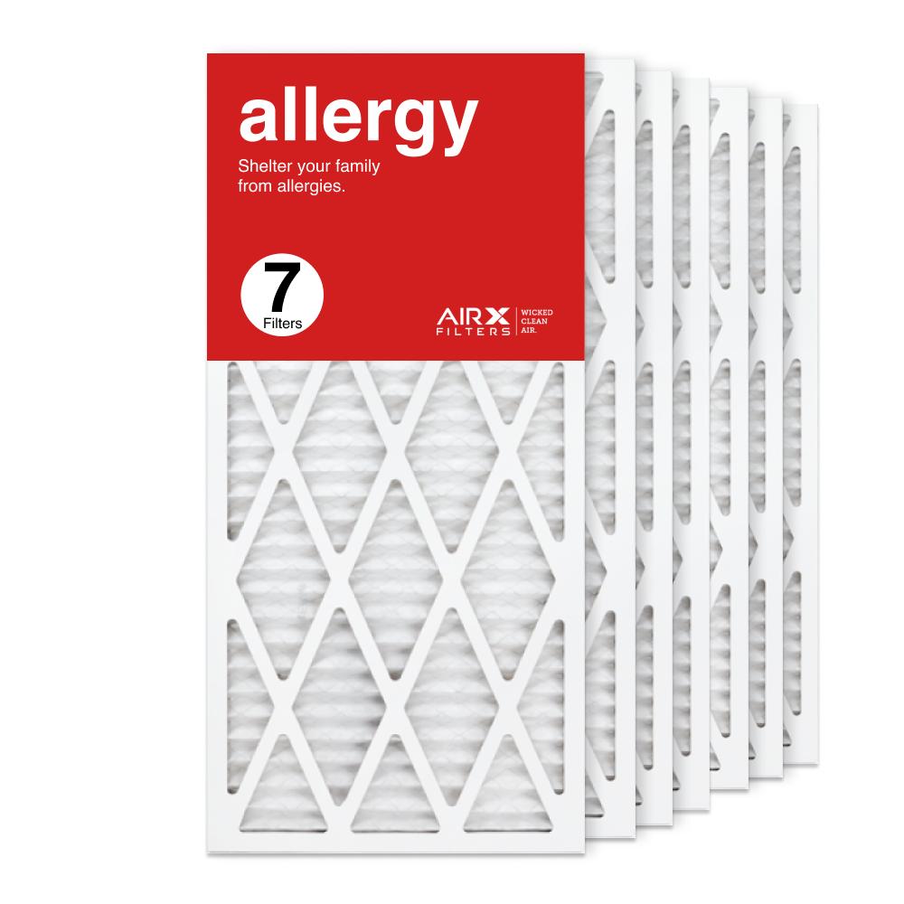 14x30x1 AIRx ALLERGY Air Filter, 7-Pack