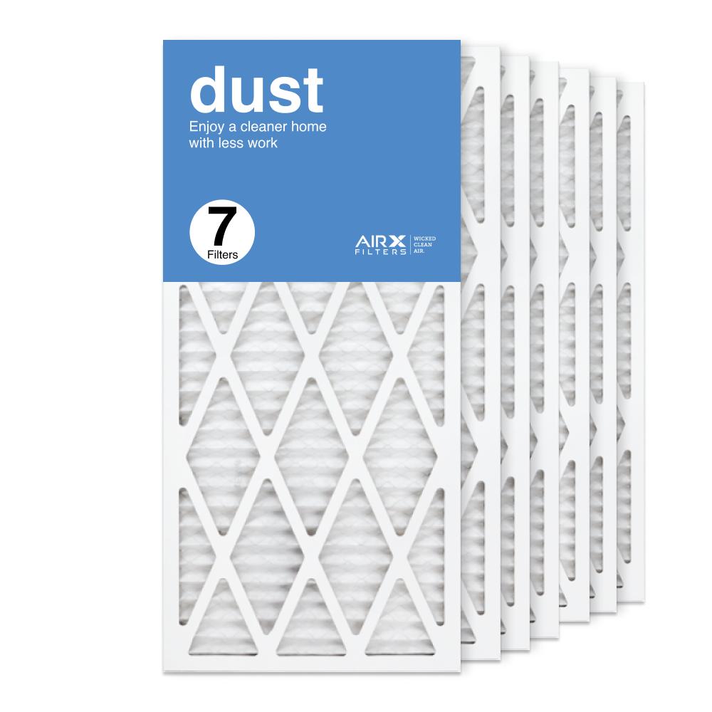 14x30x1 AIRx DUST Air Filter, 7-Pack