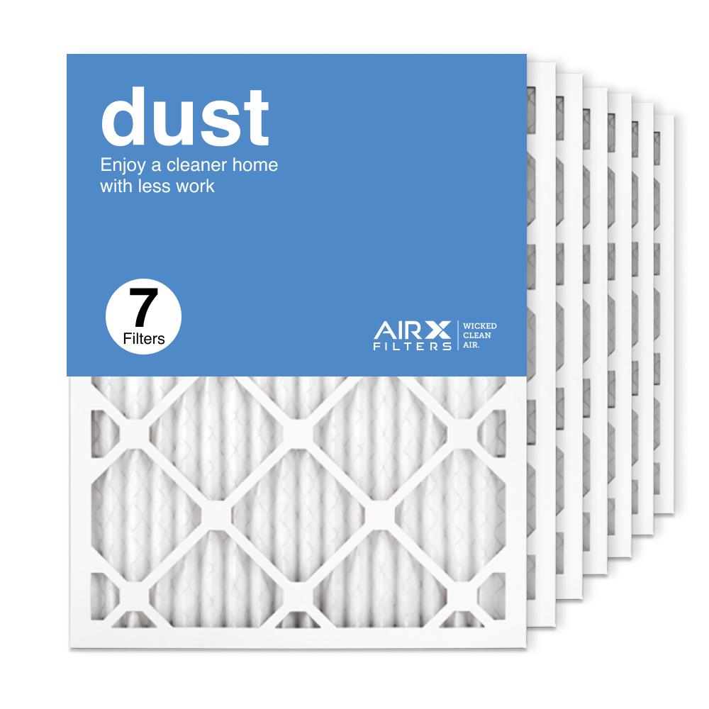 16.375x21.5x1 AIRx DUST Air Filter, 7-Pack