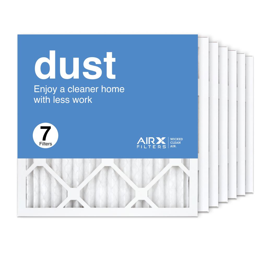 16x16x1 AIRx DUST Air Filter, 7-Pack