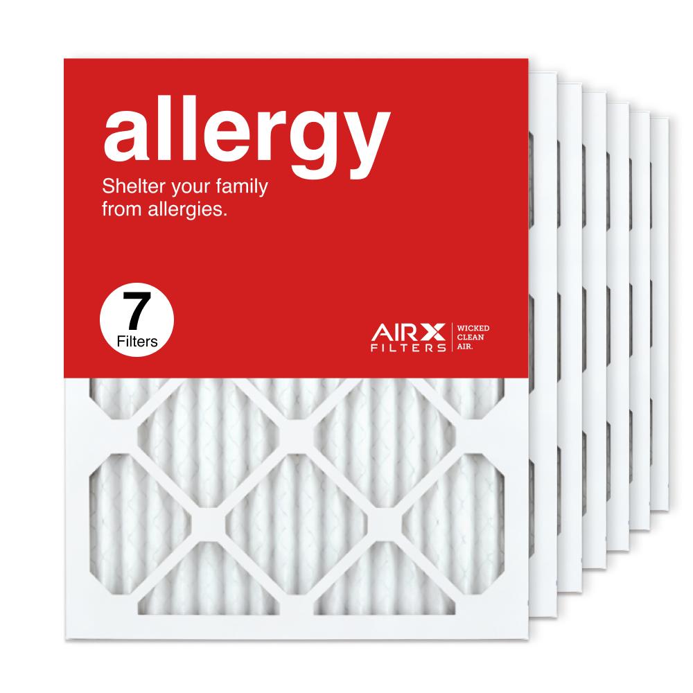 16x20x1 AIRx ALLERGY Air Filter, 7-Pack