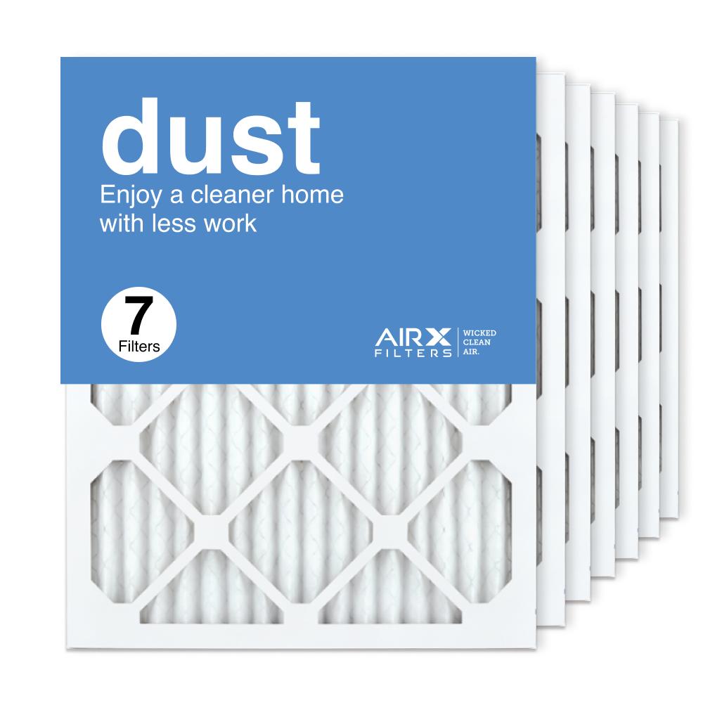 16x20x1 AIRx DUST Air Filter, 7-Pack