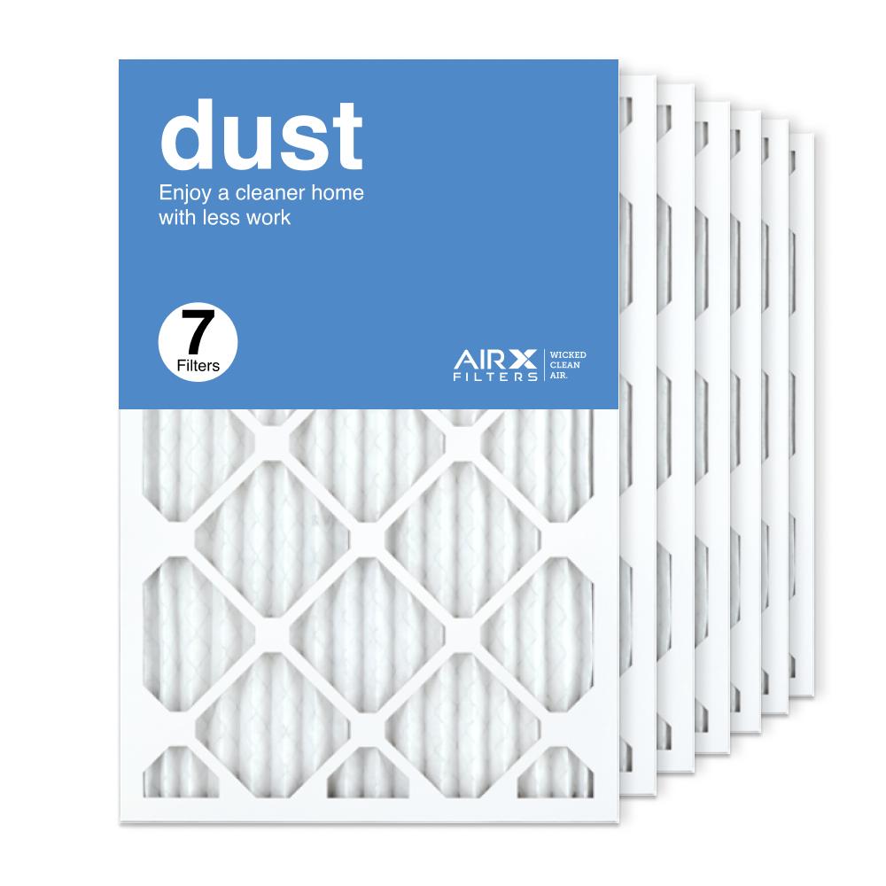 16x24x1 AIRx DUST Air Filter, 7-Pack