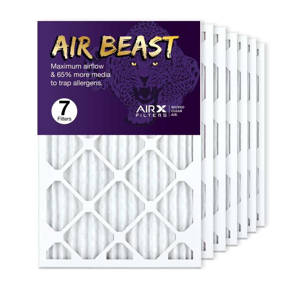 16x25x1 AIRx Air Beast High Flow Air Filter, 7-Pack