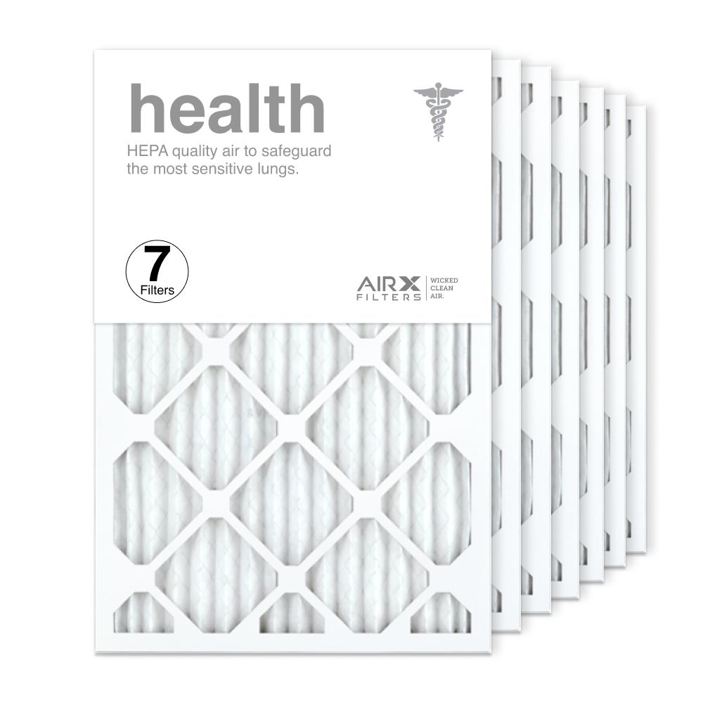 16x25x1 AIRx HEALTH Air Filter, 7-Pack