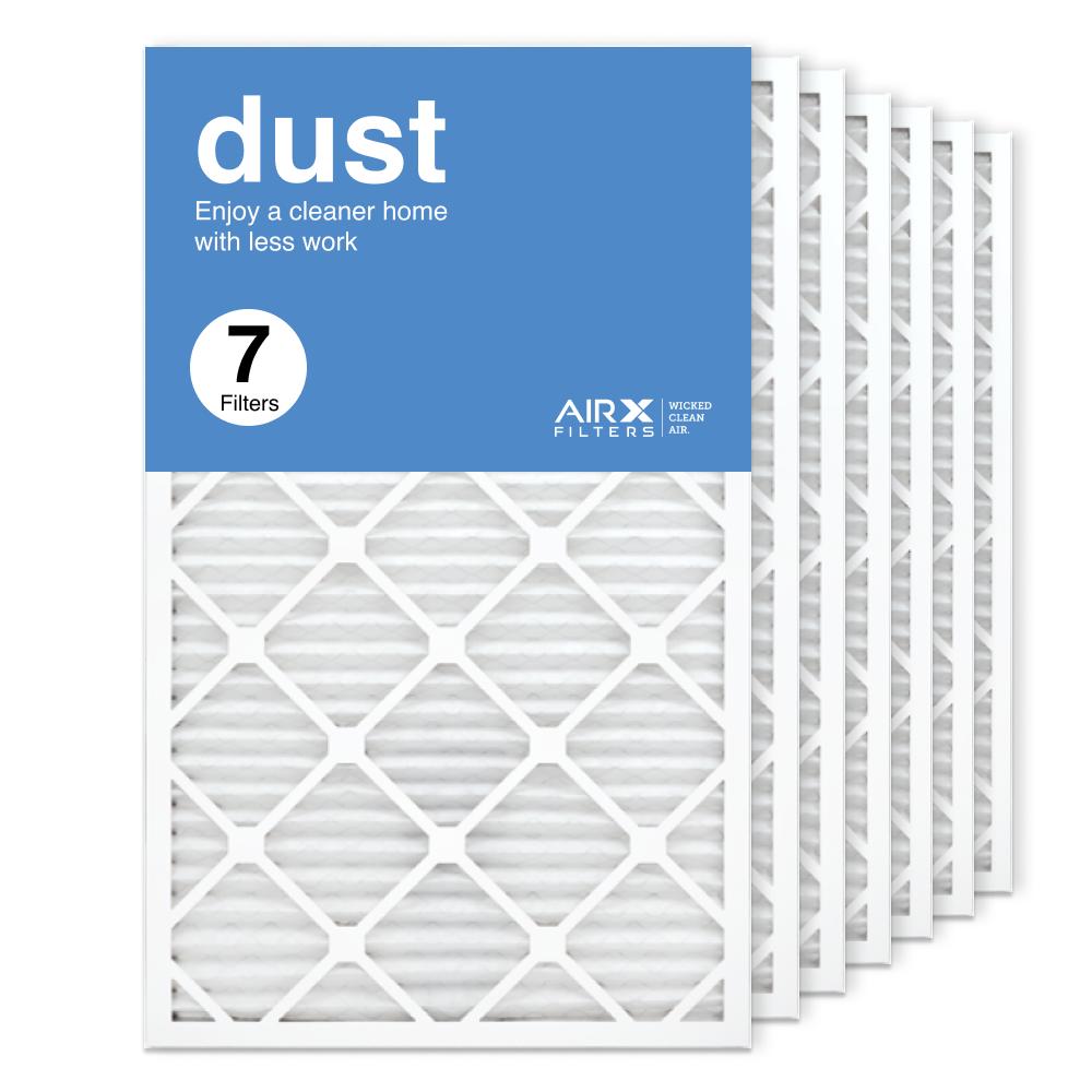 18x30x1 AIRx DUST Air Filter, 7-Pack