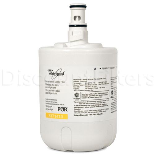 Whirlpool Refrigerator Water Filter - Whirlpool 8171413 Filter (NL200), 3-Pack