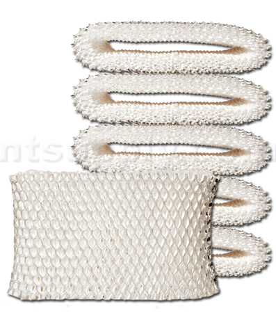 Replacement Filter Wick for Honeywell Portable Humidifiers - HAC-504, WF2 6-Pack