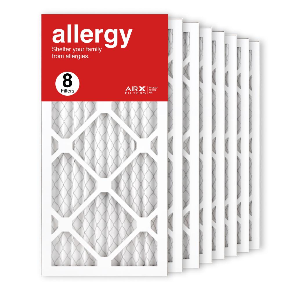 10x20x1 AIRx ALLERGY Air Filter, 8-Pack