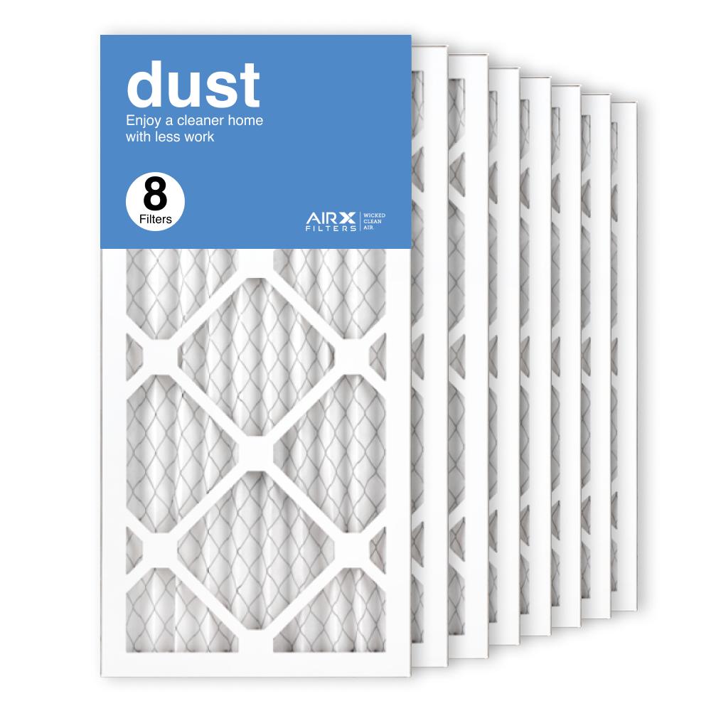 10x20x1 AIRx DUST Air Filter, 8-Pack