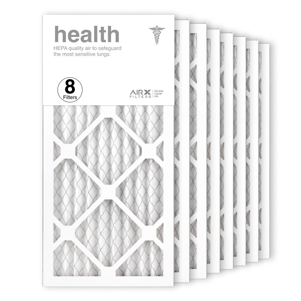 10x20x1 AIRx HEALTH Air Filter, 8-Pack
