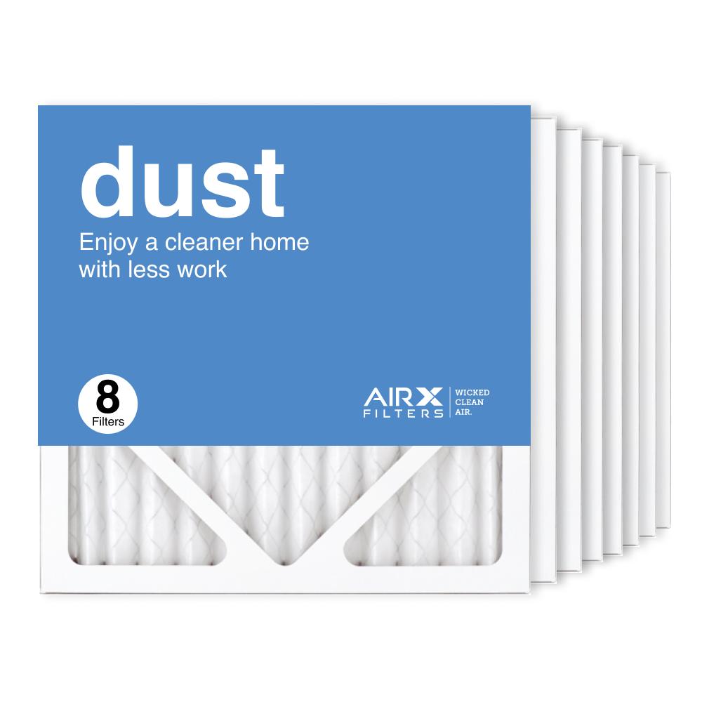 12x12x1 AIRx DUST Air Filter, 8-Pack