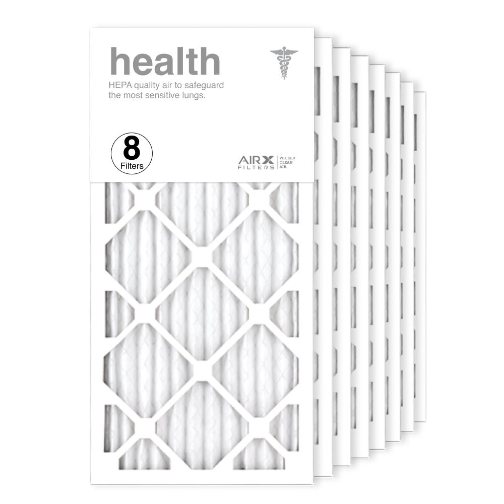 12x24x1 AIRx HEALTH Air Filter, 8-Pack