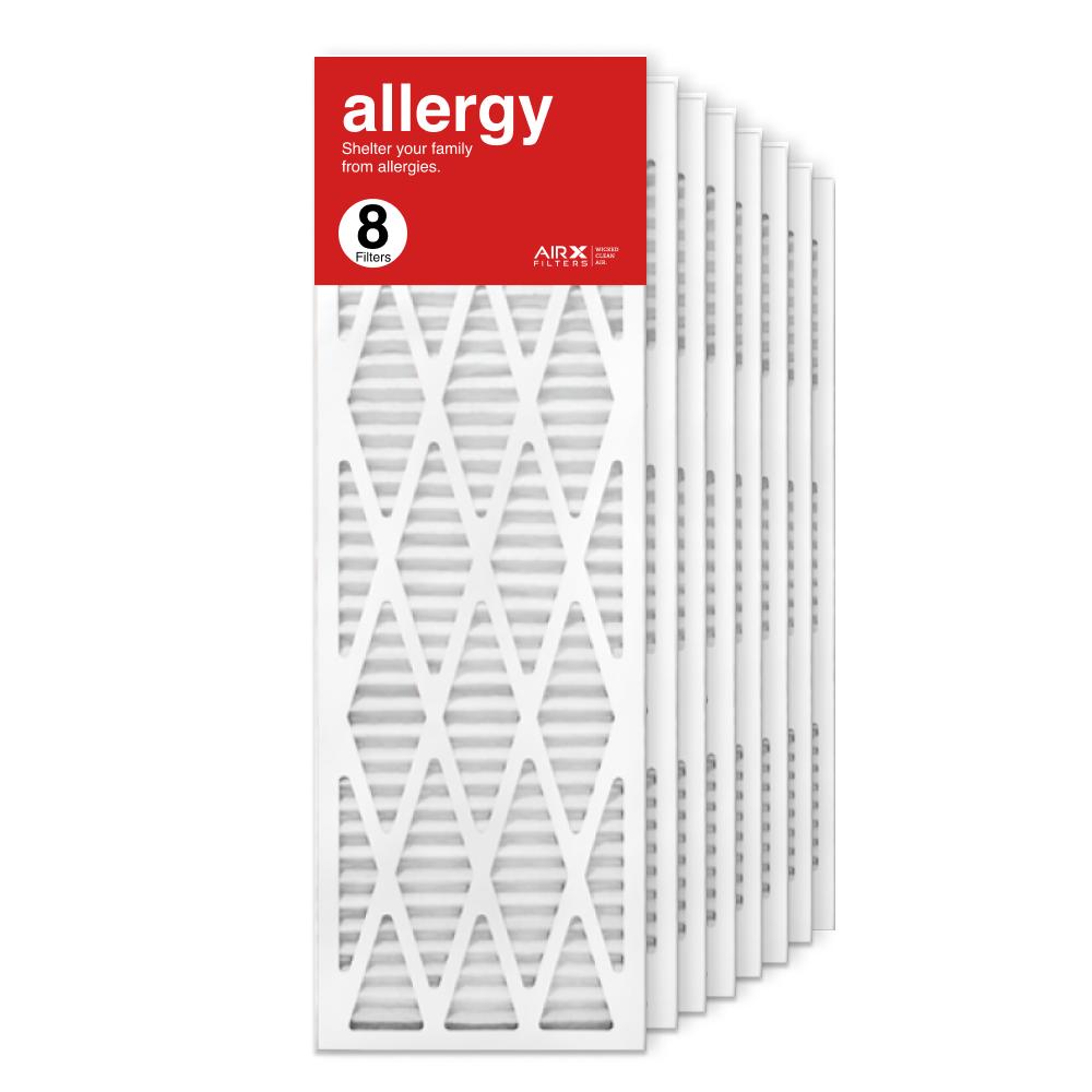 12x36x1 AIRx ALLERGY Air Filter, 8-Pack