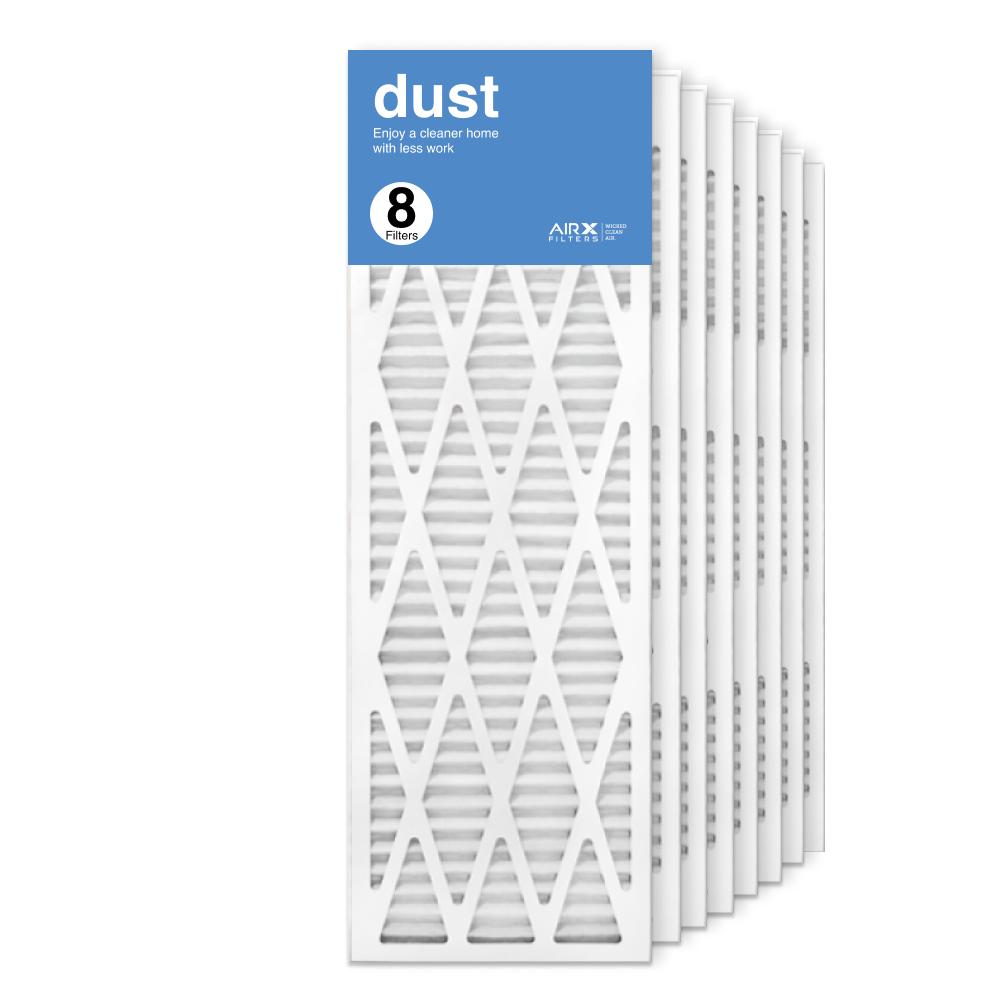 12x36x1 AIRx DUST Air Filter, 8-Pack