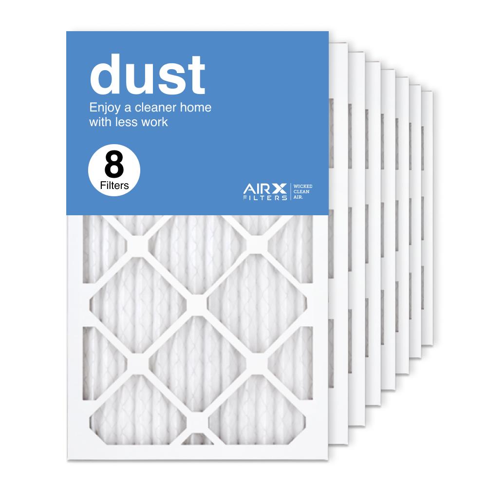 13x21.5x1 AIRx DUST Air Filter, 8-Pack