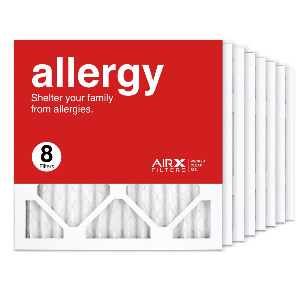 14x14x1 AIRx ALLERGY Air Filter, 8-Pack