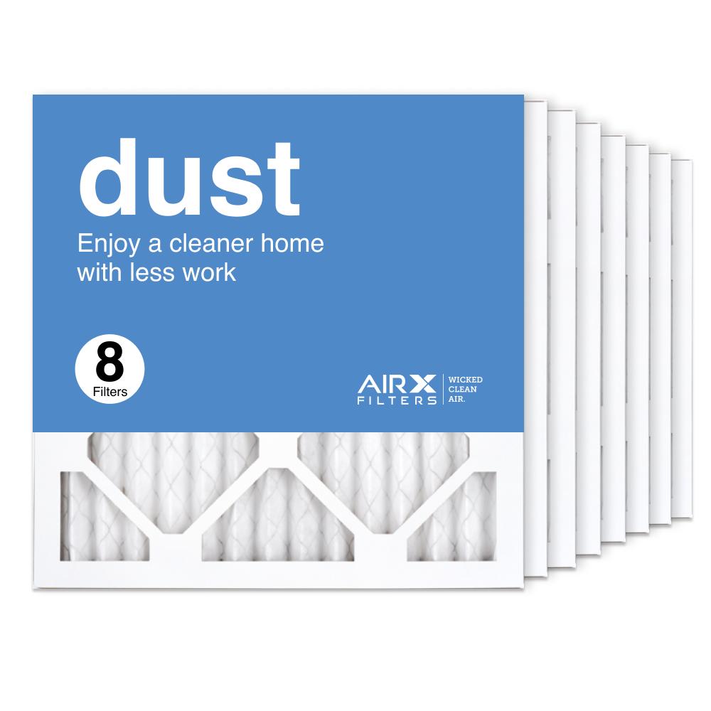 14x14x1 AIRx DUST Air Filter, 8-Pack