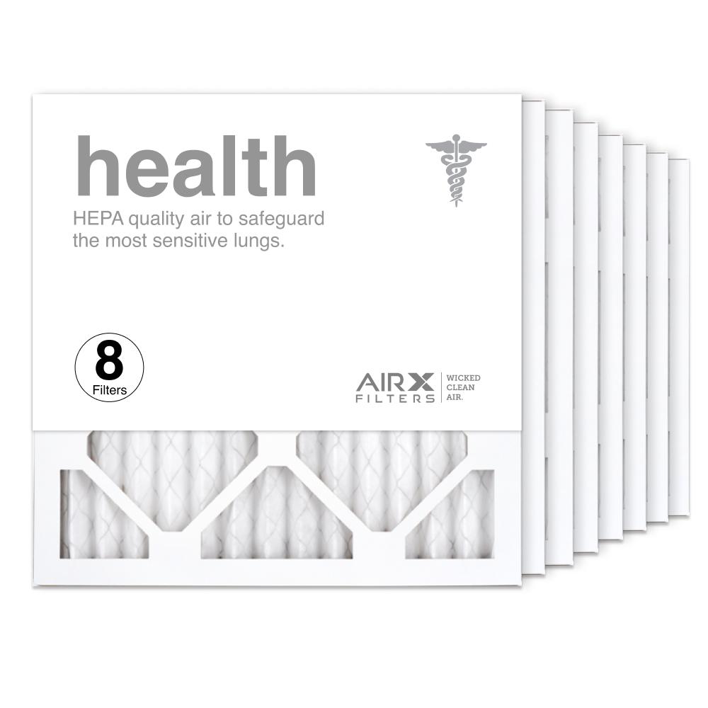 14x14x1 AIRx HEALTH Air Filter, 8-Pack
