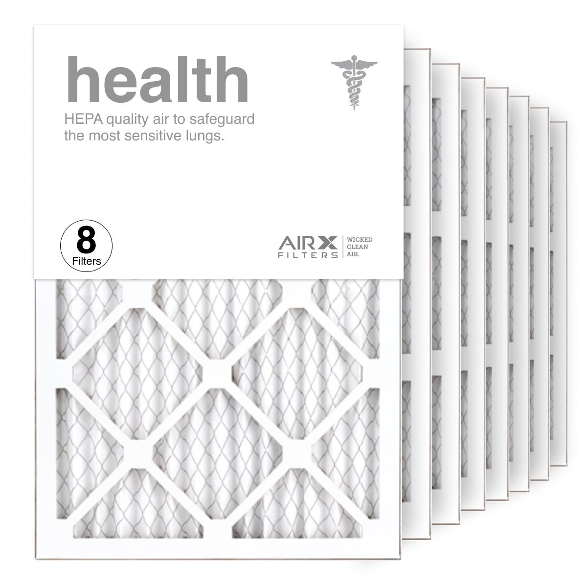 14x20x1 AIRx HEALTH Air Filter, 8-Pack