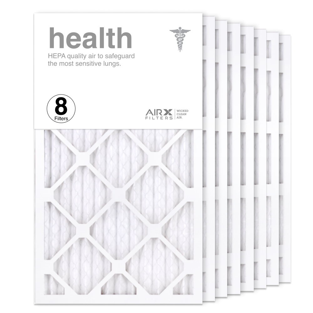 14x24x1 AIRx HEALTH Air Filter, 8-Pack